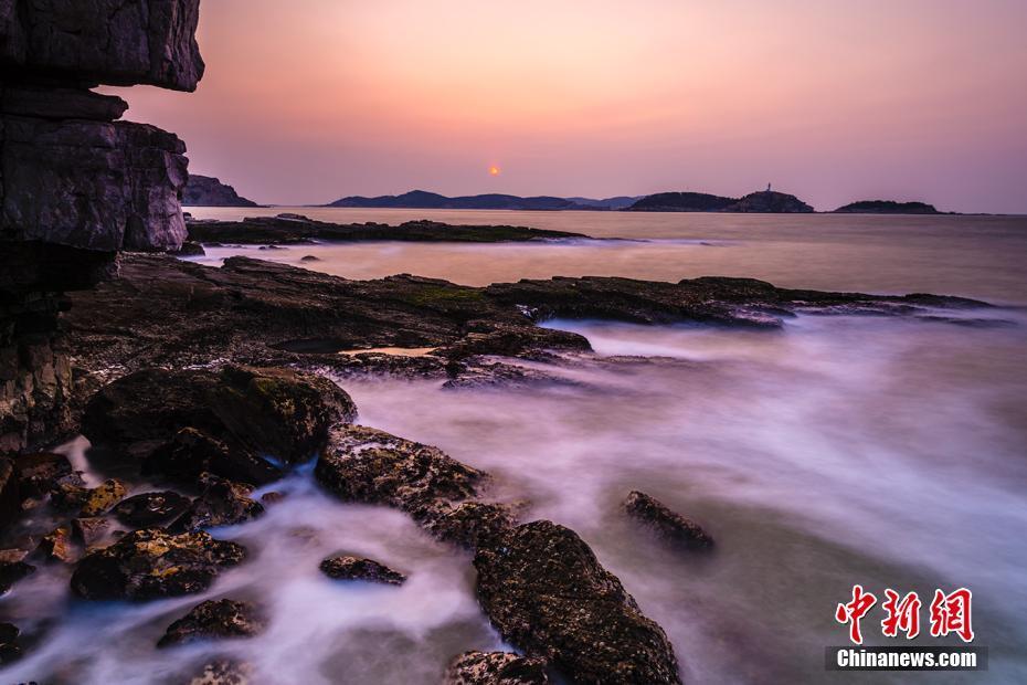山东长岛冬季海景