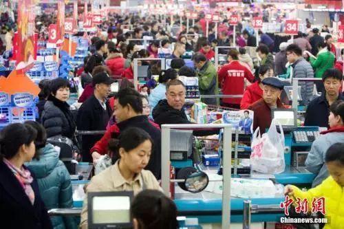 中国大陆人口突破14亿!GDP突破1万