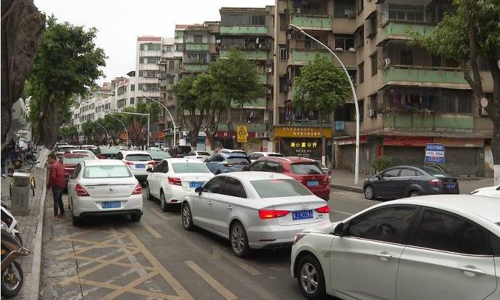 华园社区实施交通微循环一年 部分路段仍拥堵