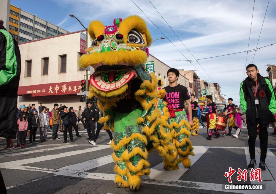 旧金山中国城庆祝春节