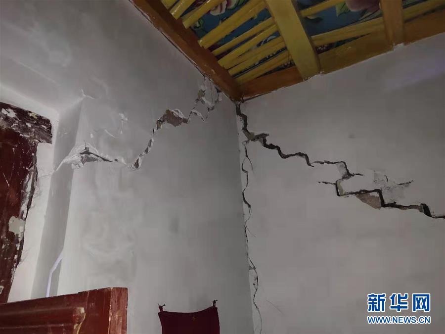 新疆伽师县6.4级地震后余震不断