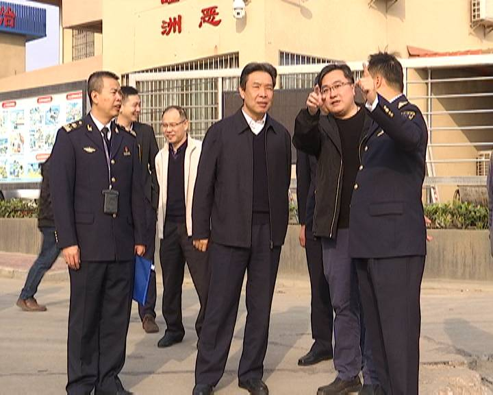 广东海事局领导到我市开展春运渡运安全检查