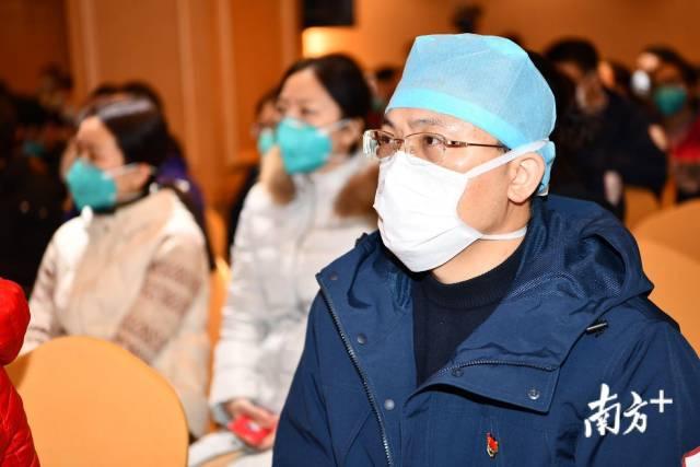 广东医疗队对口援助汉口医院,将接管两个病区