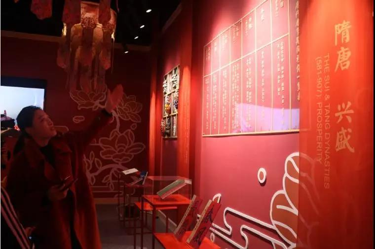 走!带你去西安网红街中国年文化馆提前过大年