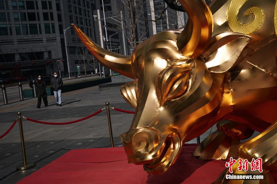 北京复工首日 金融街人流渐增