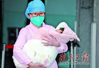 广东年龄最小新冠肺炎患儿出院