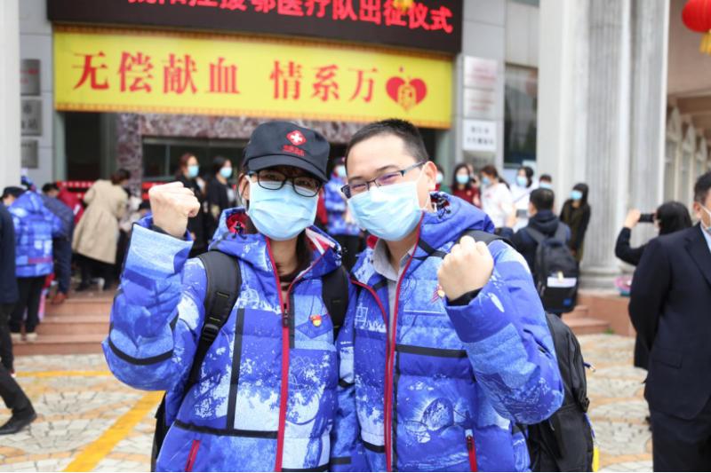 广东省退役军人事务系统医护人员紧急驰援湖北