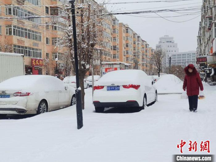 最大降雪量12.2毫米 中国最北省份迎来2020年首场大雪