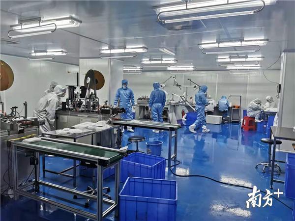 惠州10天新建一条医用口罩生产线,预计日产80万只