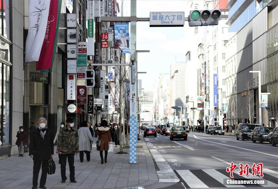 疫情下的日本東京街頭