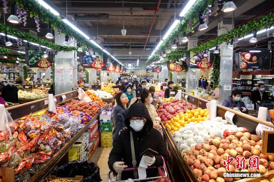 紐約超市物資供應充足