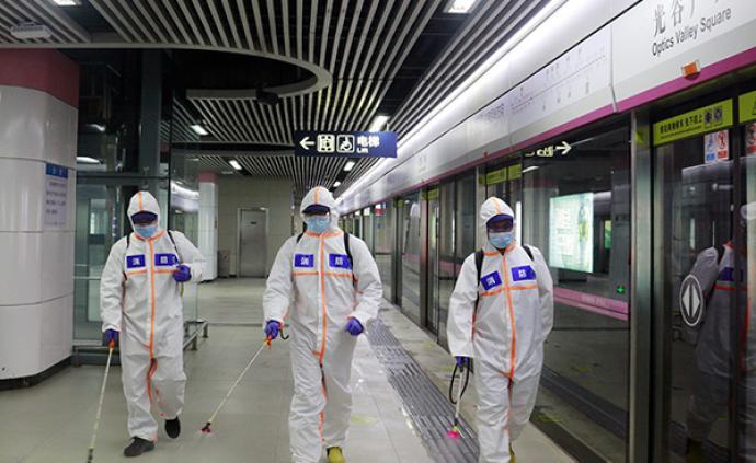 28日起武汉6条地铁恢复运营,工作日时间为6时至23时