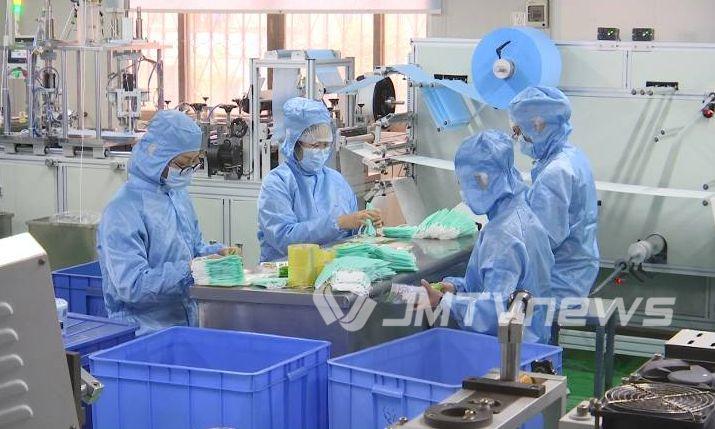 江门口罩生产企业增至16家 日产能超150万只