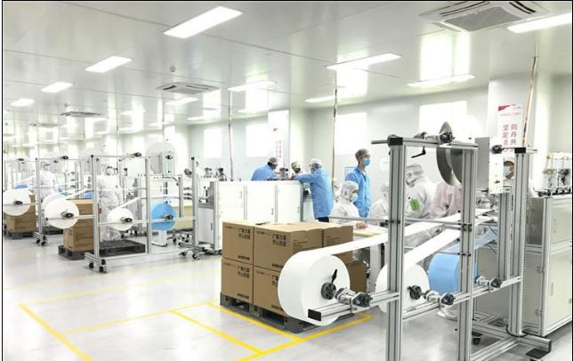 广东国有企业全力调动生产资源高效转产酒精口罩 保障供应工业原料