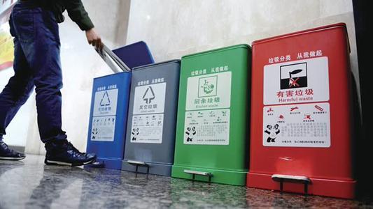 爱国卫生运动 重点城市垃圾分类覆盖率近70%