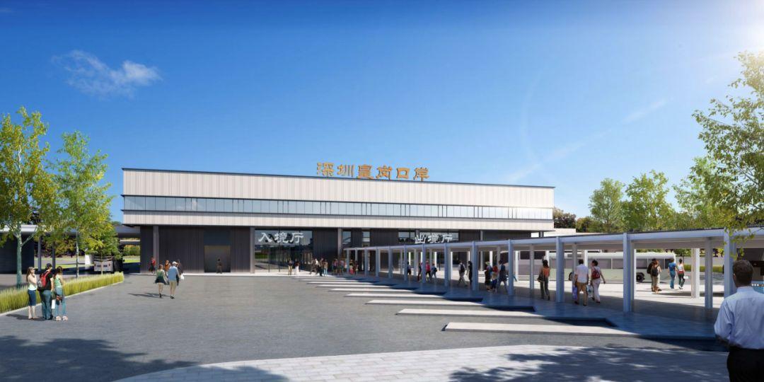 深圳福田口岸、皇岗口岸改造工程计划5月底完工验收