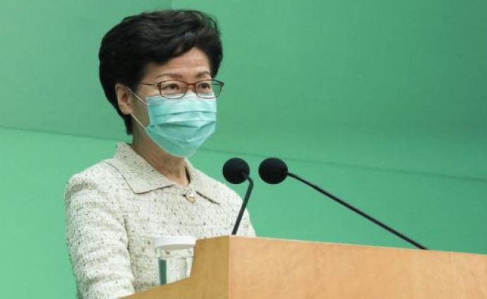 林郑月娥:香港将扩大新冠病毒检测量至每日7000个