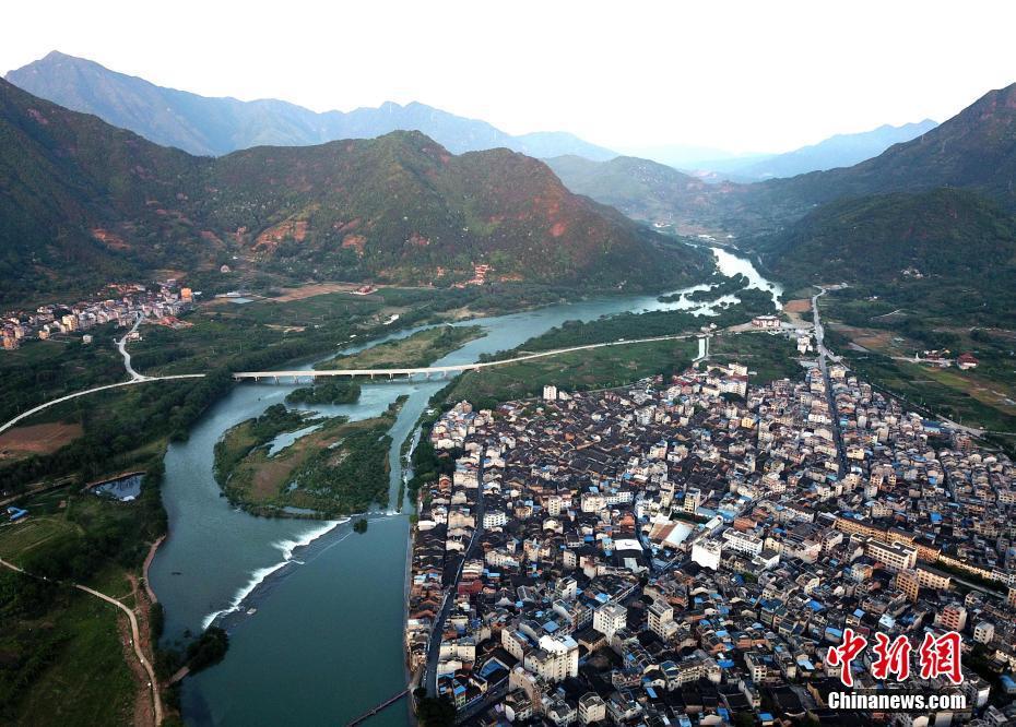 福建青山绿水生态美