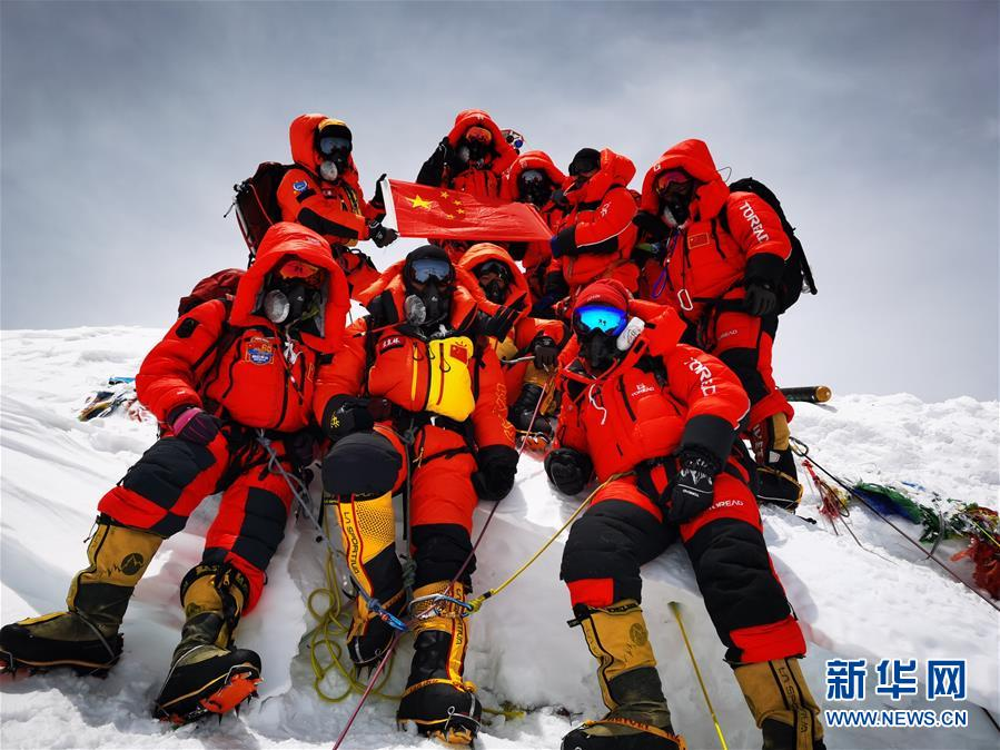 尼泊尔表示将与中国讨论何时宣布珠峰新高度