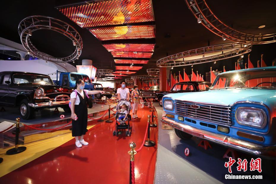 北京汽車博物館開放