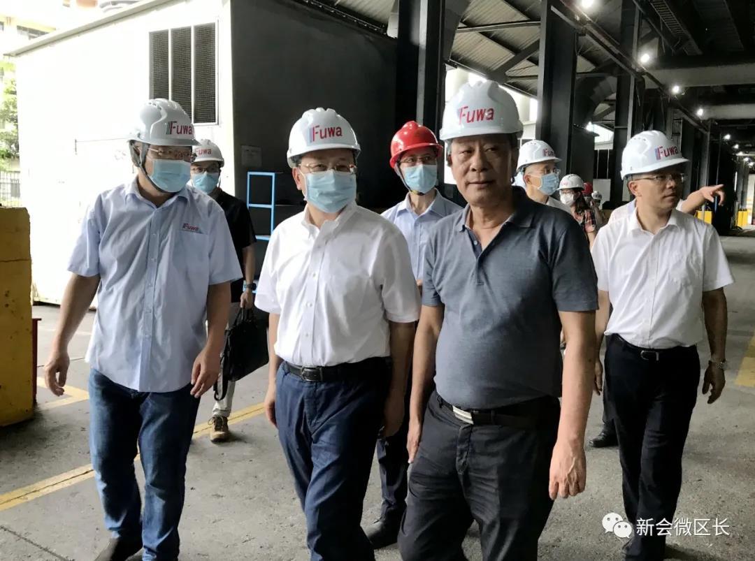 市委副书记、市长刘毅到富华铸锻公司开展暖企安商调研