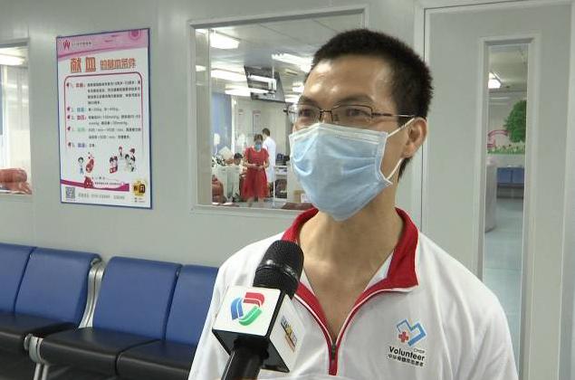 全市献血量榜首伍杰荣:希望带动更多人加入无偿献血行列