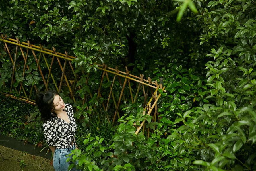 杨子姗田园写真