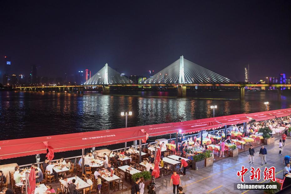 长沙夜经济逐渐复苏