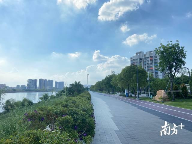 江門蓬江環人才島碧道已建成6公里