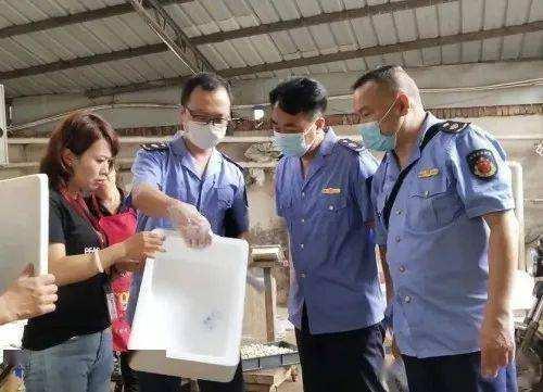 江西萍鄉厄瓜多爾凍蝦外包裝呈陽性