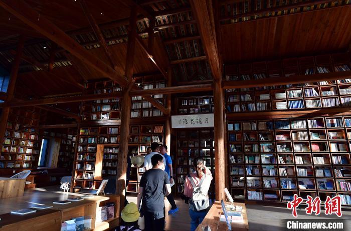 福建永泰:新鄉村生活美學館吸引民眾