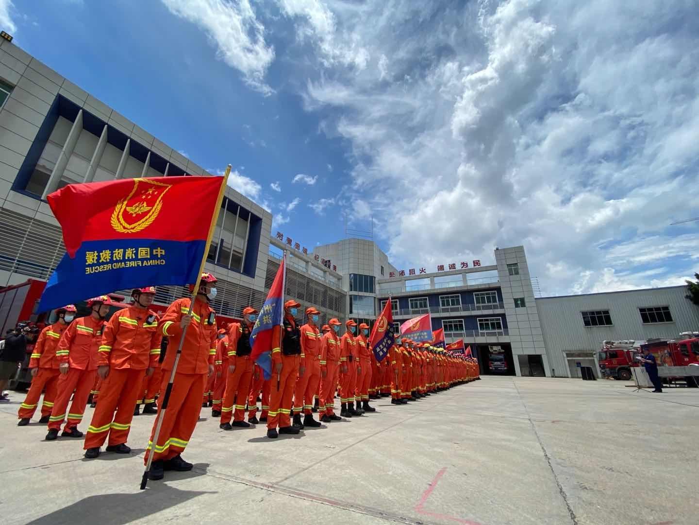 湖南启动防汛应急响应 广东300余名指战员集结待命