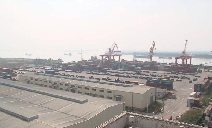 江门大广海湾保税物流中心(B型)运营首月开门红