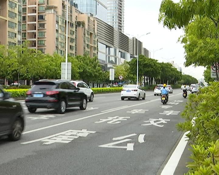江门交警提醒:摩托车须靠右侧车道行驶