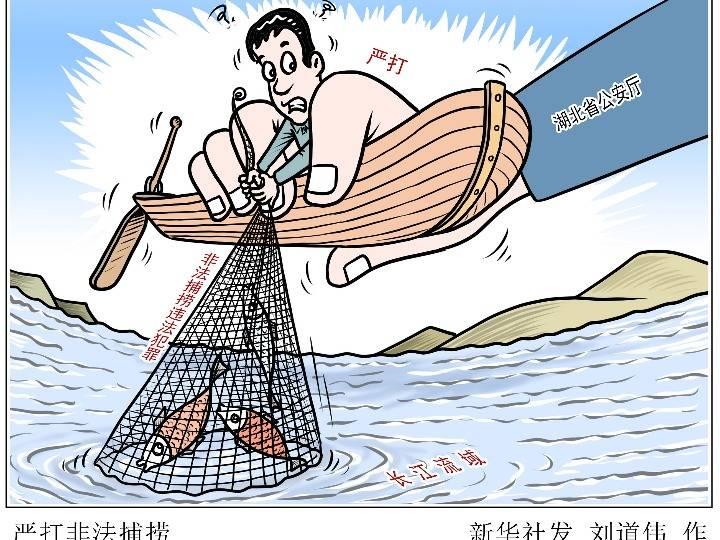 公安机关打击长江流域非法捕捞 侦破案件2480余起