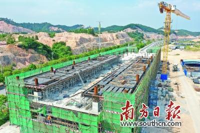 粵首條中低速磁浮線預計9月鋪軌 年底實現主體工程完工