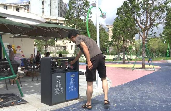 江门儿童公园不文明行为减少 文明游玩成共识