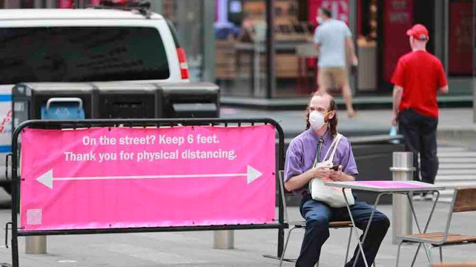 最新民调:仅20%美国人希望各州放宽防疫限制