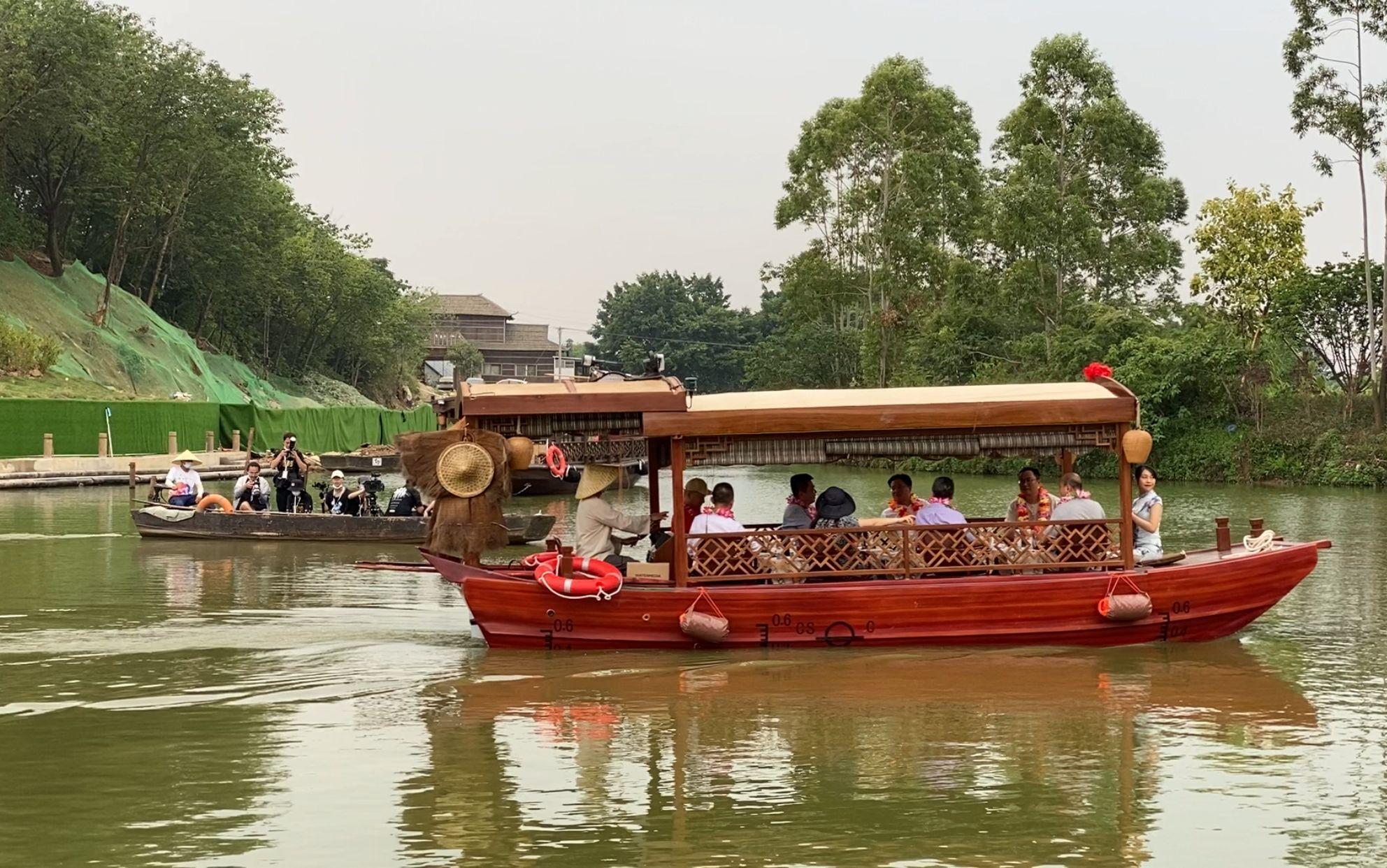 华侨城古劳水乡项目一期首开区启动 10月1日正式迎客