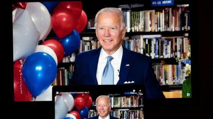 外媒:美国民主党总统候选人拜登获诺贝尔和平奖提名