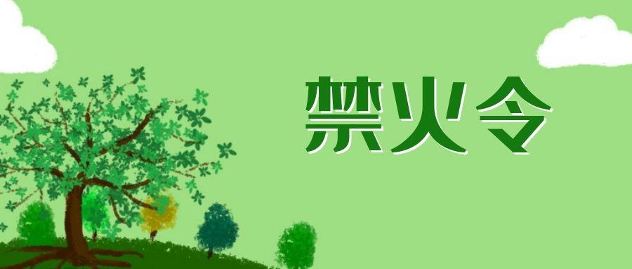 【扩散】恩平市人民政府发布森林防火禁火令!